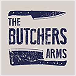 the butchers arms logo