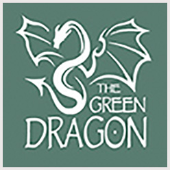 the green dragon logo