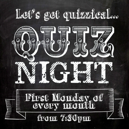 Monthly Quiz Night!